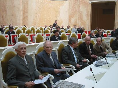 Фотографии с юбилейного заседания - сергей павлов